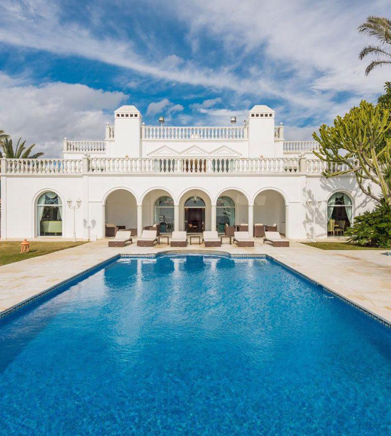swimming pool the palace marbella