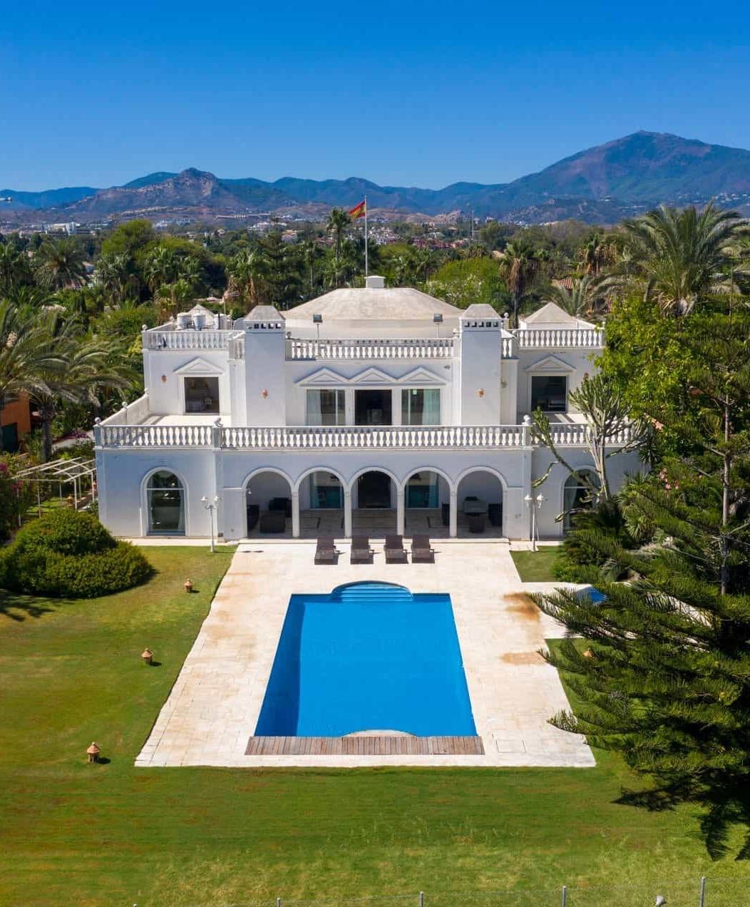 The perfect wedding villa in Marbella