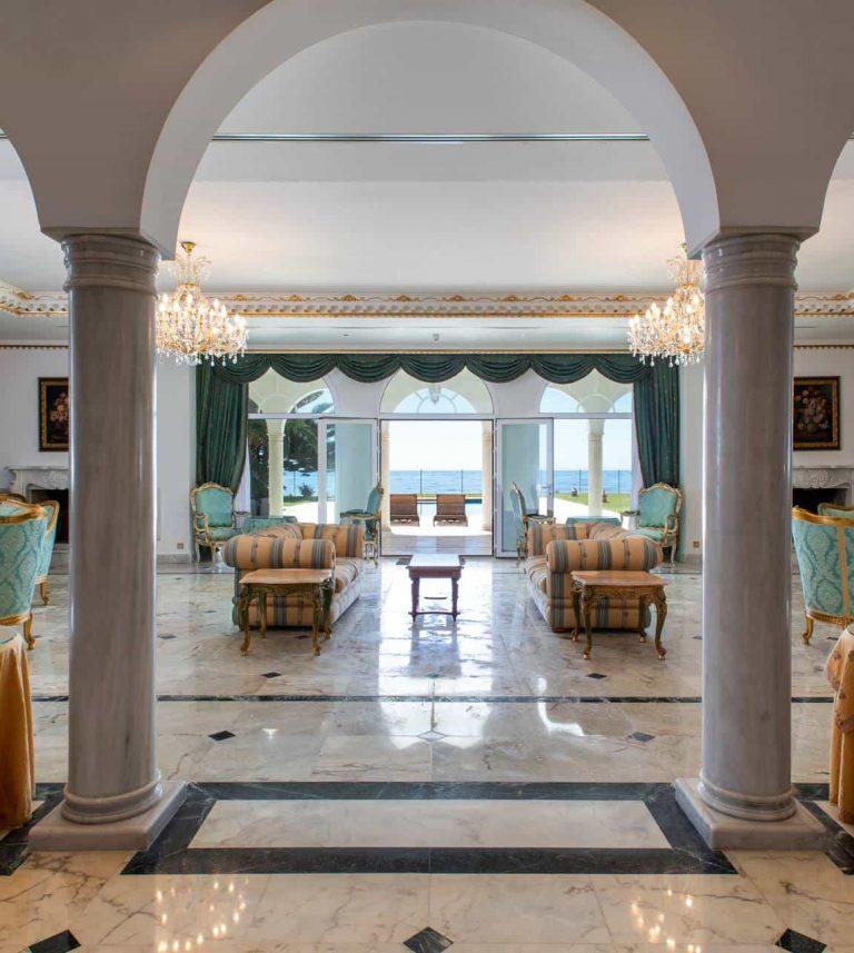 The palace Marbella interior